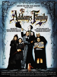 Adams Family Production Poster