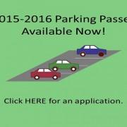2015-2016 Parking Passes