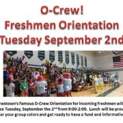 Jamestown's Famous O-Crew Orientation for incoming freshmen will