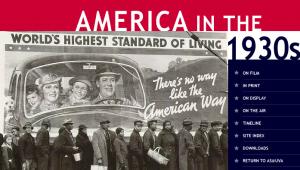 America 1930s