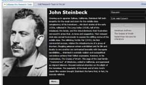 eliibrary steinbeck