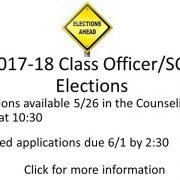 2017-18 Class officer