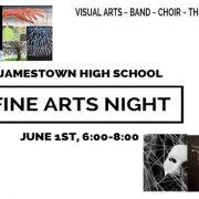 fine arts night slide