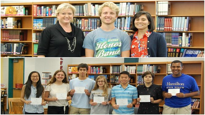 JHS National Merit Semifinalist and Commended Students