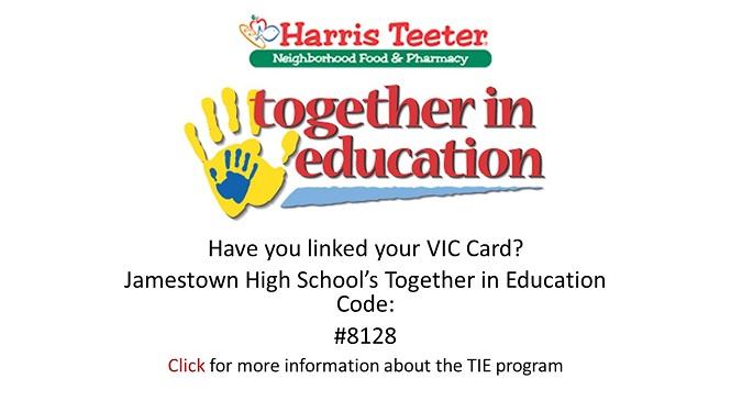 Harris Teeter Together In Education Program Jamestown High School