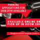 Parking applications for 2018-2019 are available online or in Room 206. Registration begins June 1, 2018.