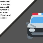Juniors and Seniors: Interested in a career in law enforcement? Check out James City County's Pathways to Law Enforcement Program. Click for more information