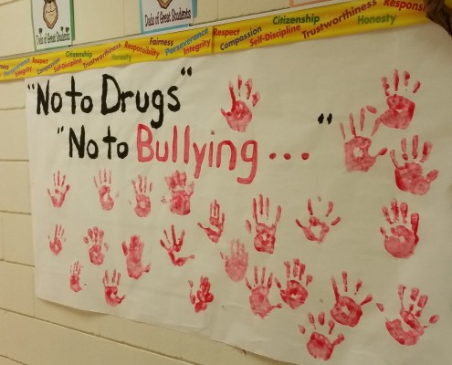 Red Ribbon Week An Initiative To Educate Students About Staying Drug