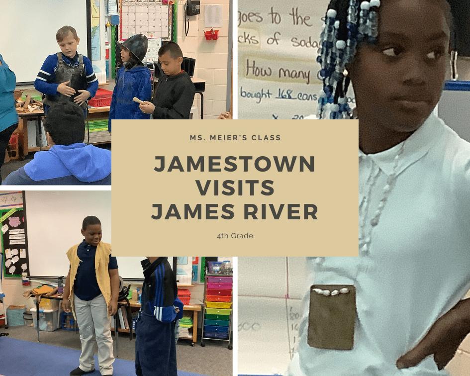 Jamestown visits jamestown