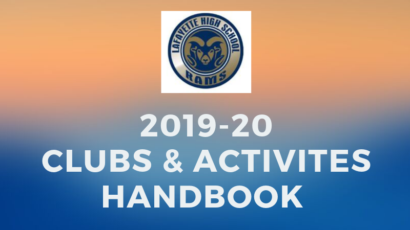 Click here for the LHS Clubs & Activities Handbook