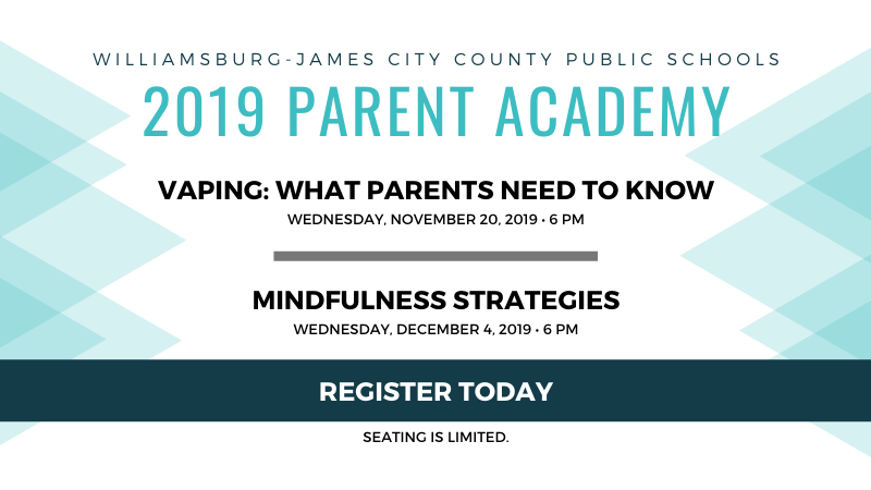 2019 Parent Academies - Click to learn more