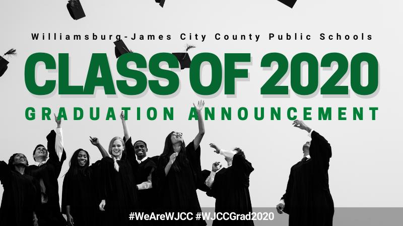 Class of 2020 Graduation Announcement