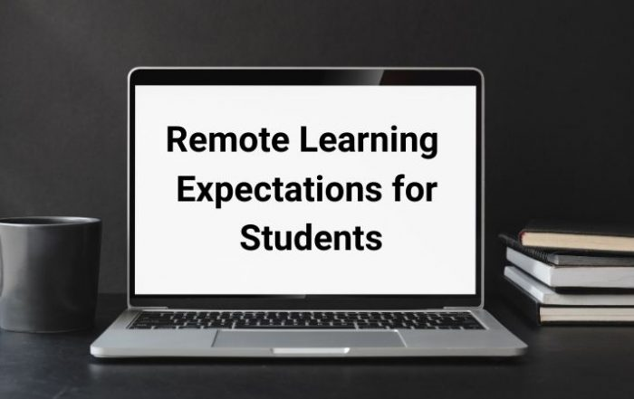 Remote Learning Expectations.