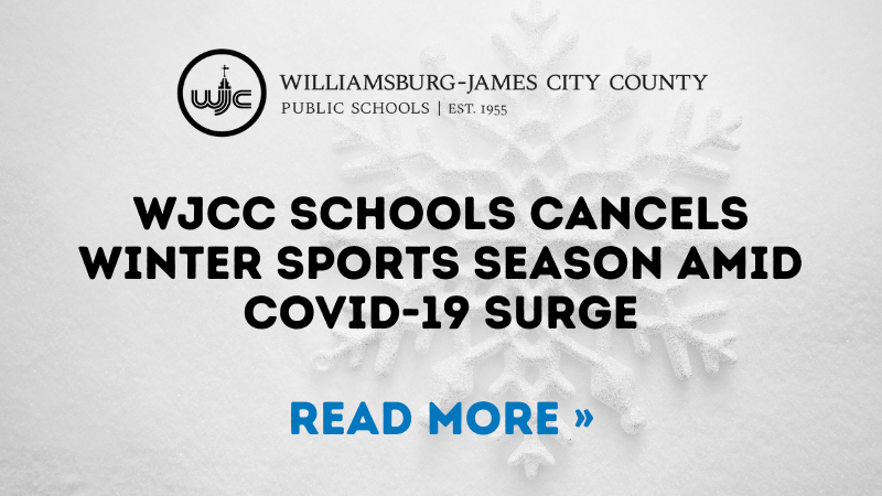 WJCC Schools Cancels Winter Sports Season Amid COVID-19 Surge