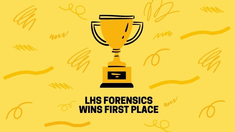 LHS Forensics Wins First Place.