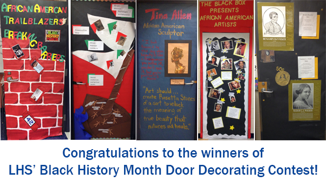 Black History Month Door Decorating Contest Lafayette High School