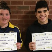 Congratulations to our Seniors of the month!