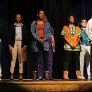 LHS students perform at the Black History Month Assembly