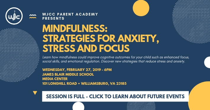 Mindfulness session is full. Click to learn about future events.