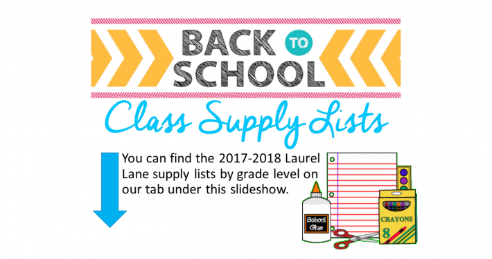 LLES Supply Lists SY1718