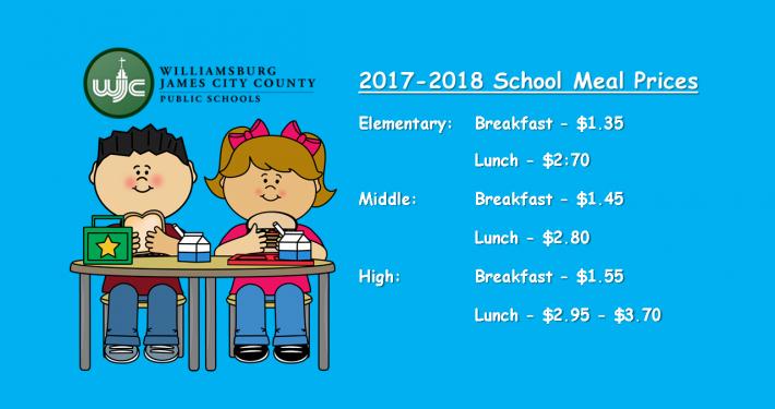 school lunch sy1718
