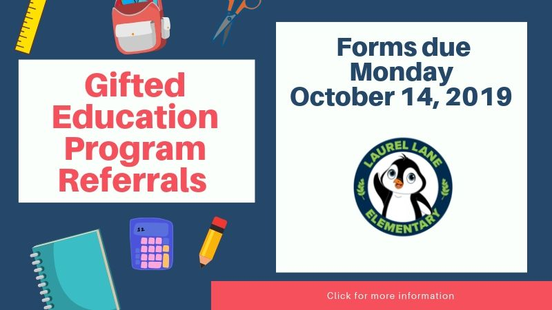Gifted Education Program Referrals