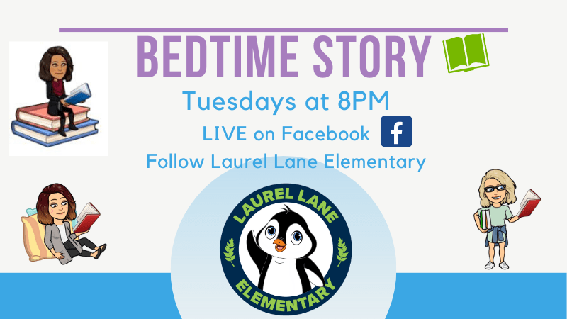 bedtime story live on facebook