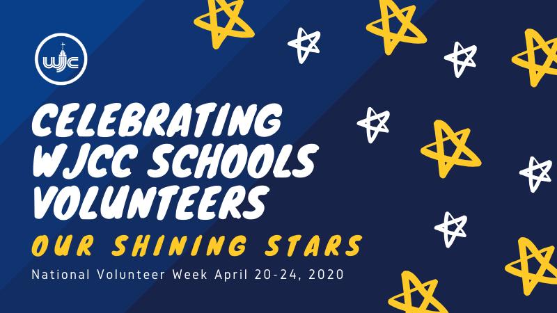 Celebrating WJCC Schools Volunteers