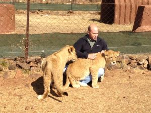 Mr Spence in South Africa