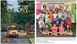 fords-colony-volunteers-for-education-cover-and-student-picture