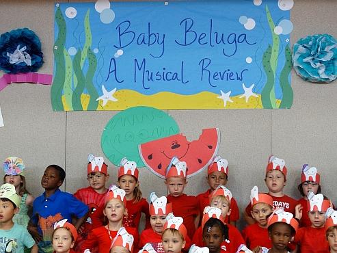 Kindergarten Baby Beluga Show
