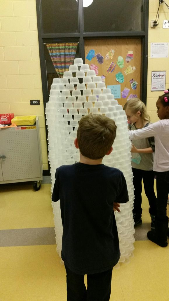 1st grade tower invention