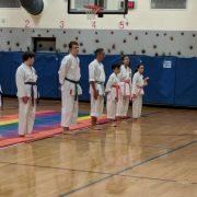 John Spence's karate demonstration