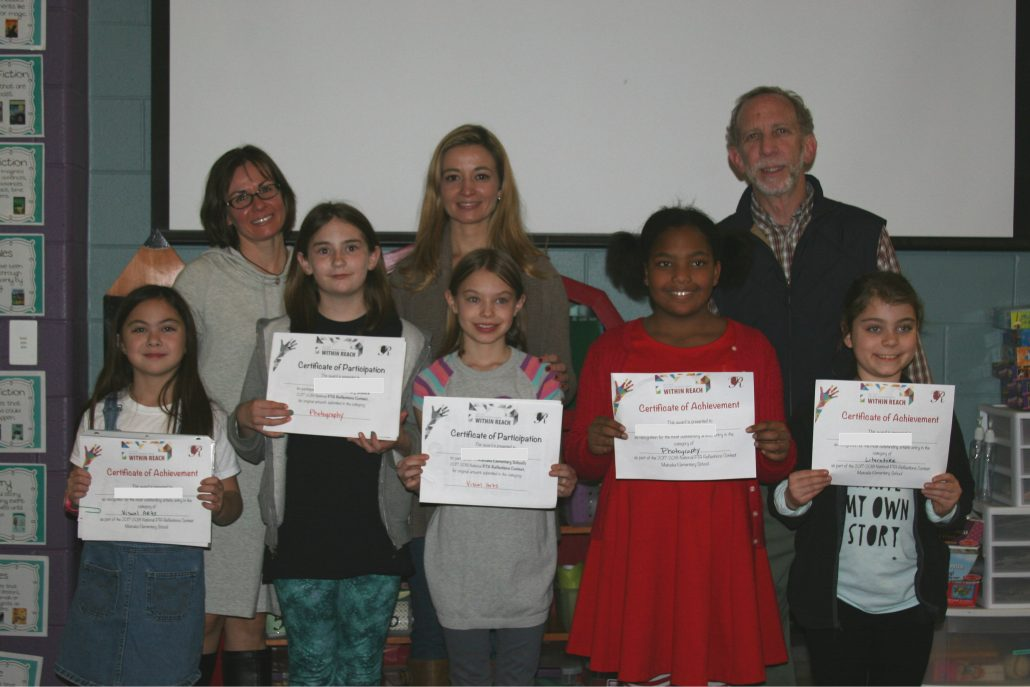 PTA Reflections Contest 2018 participants and winners