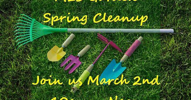 Spring Garden Cleanup
