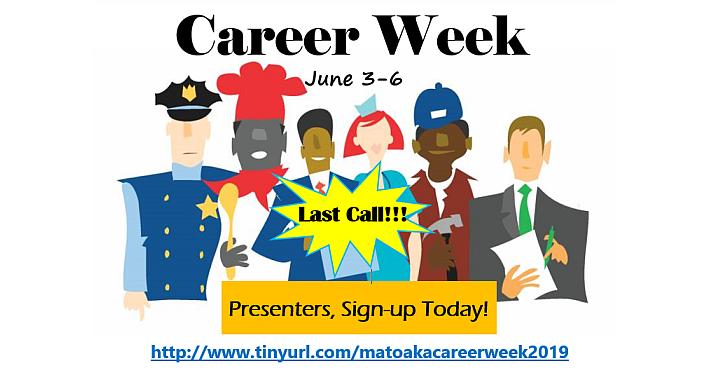 Career Week Last Call