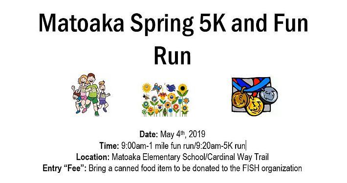 Matoaka 5K and 1 mile run