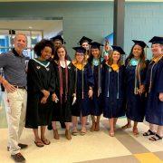 graduates with principal