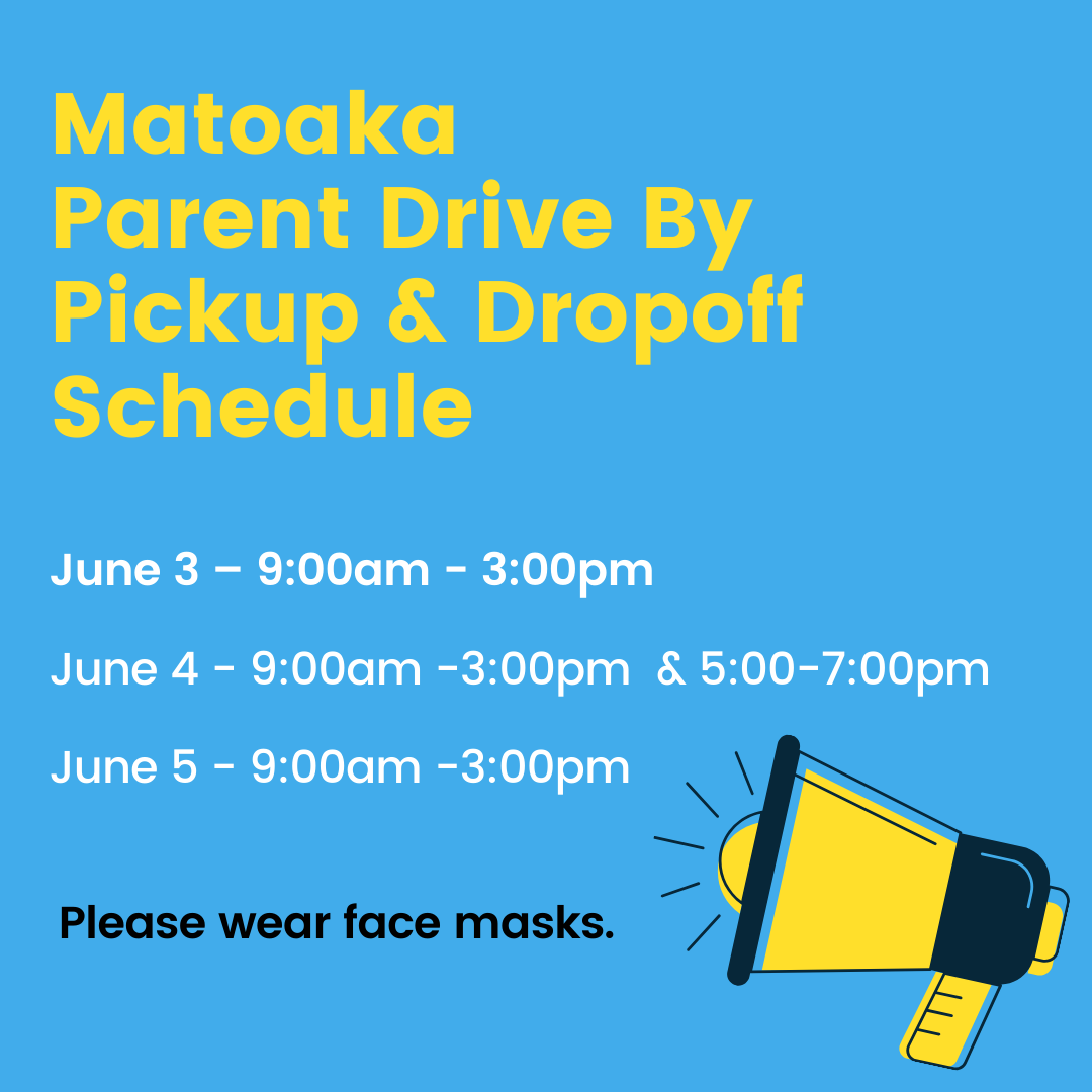 parent drive by dropoff and pickup