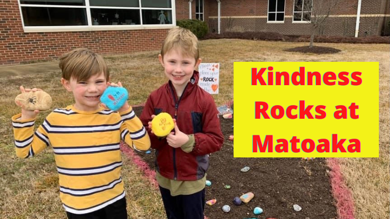 kindness rocks garden