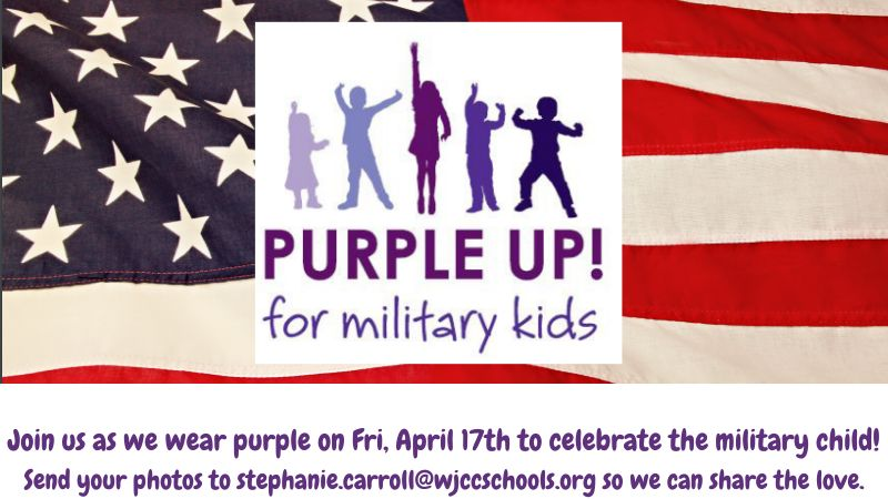 Purple Up Day Friday April 17