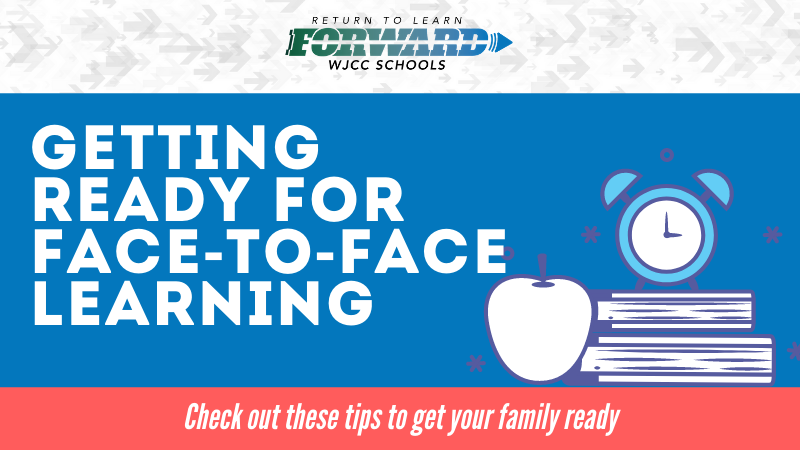 Getting Ready for Face-to-Face Learning