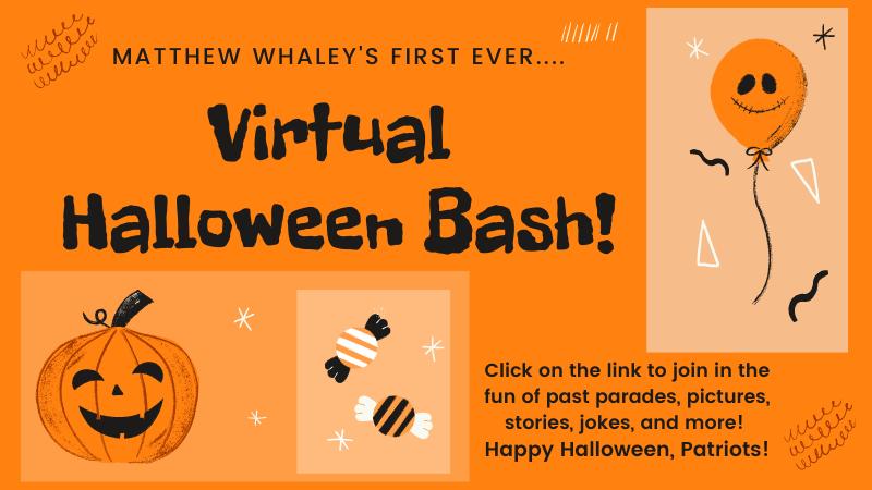 Virtual Halloween Bash! Click on the link!