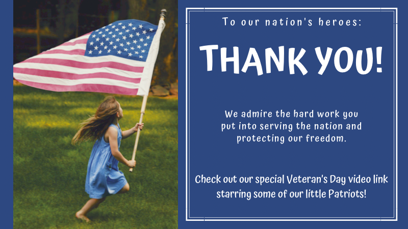We Salute Our Military!