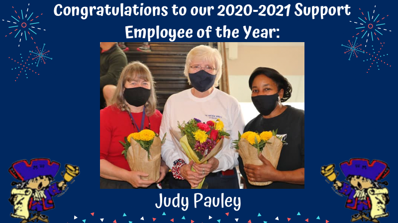 Congratulations to our 2021 Support Employee of the Year