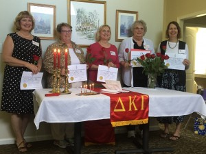 Delta Kappa Gamma Inductees 2016
