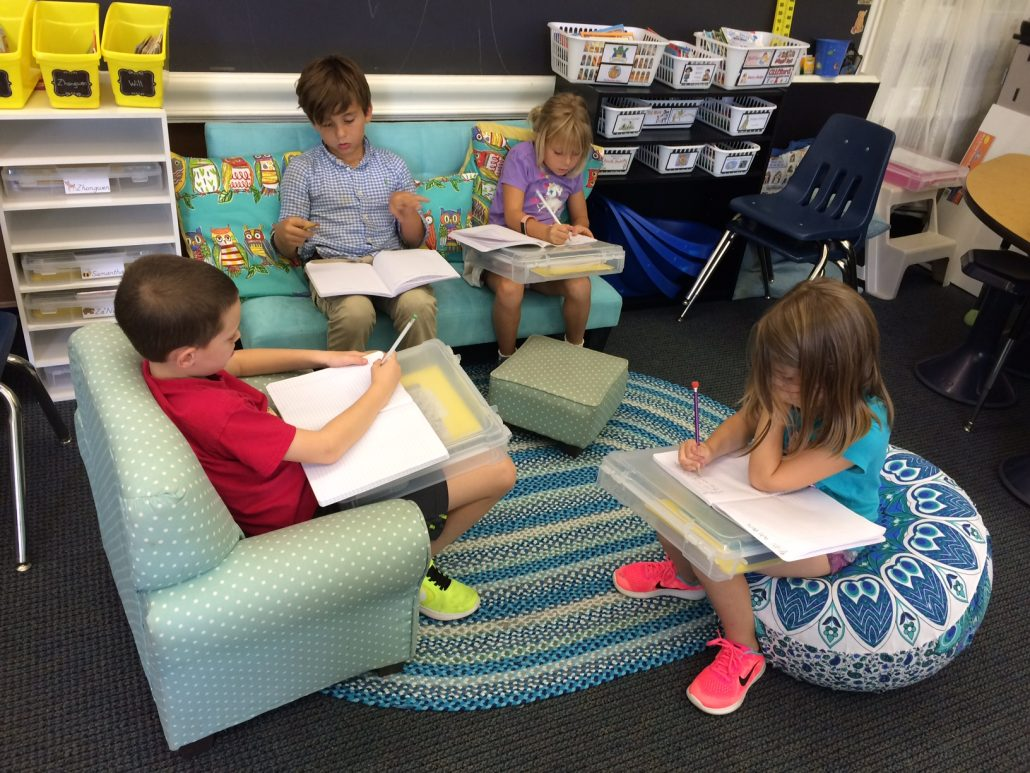 Modular Classroom Yoga ~ Mrs bush s second graders love flexible seating