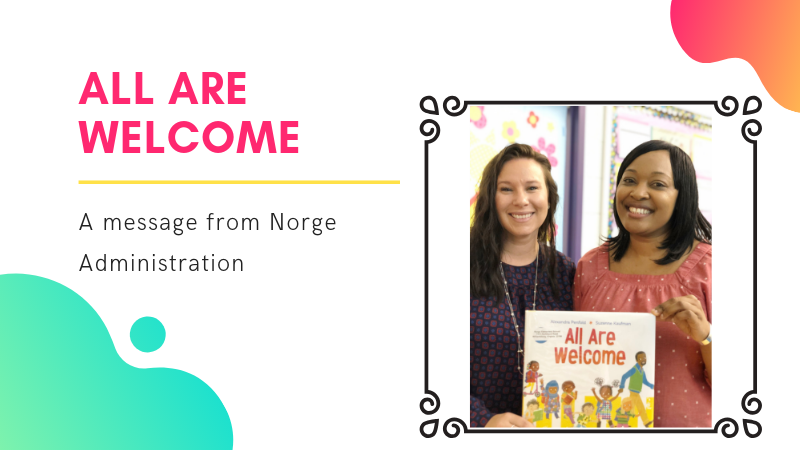all are welcome at Norge