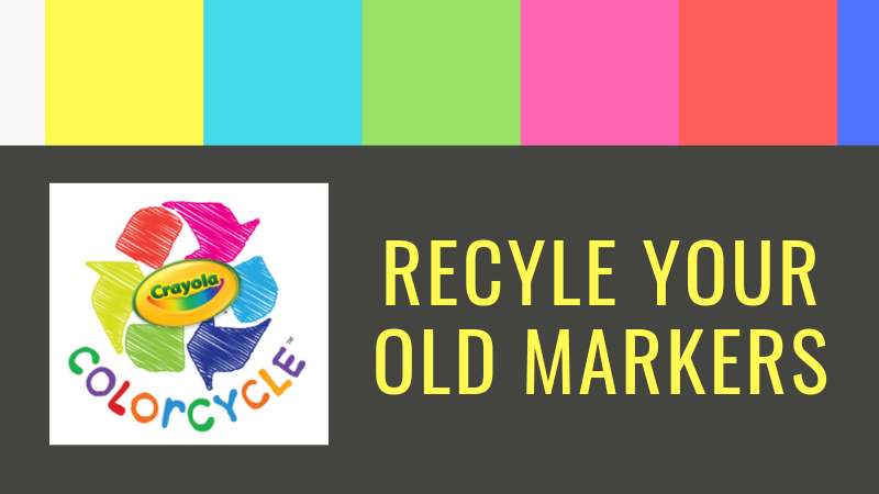 recycle old markers