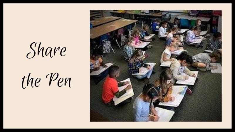 share the pen wheeler